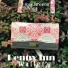 The Penny Inn wallet sewing pattern by Katherine