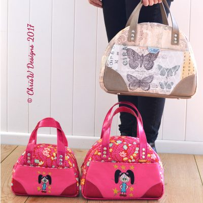 The Bodacious Bowler Bags - A ChrisW Designs Designer Bag Sewing Pattern
