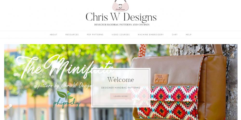 ChrisW Designs Website