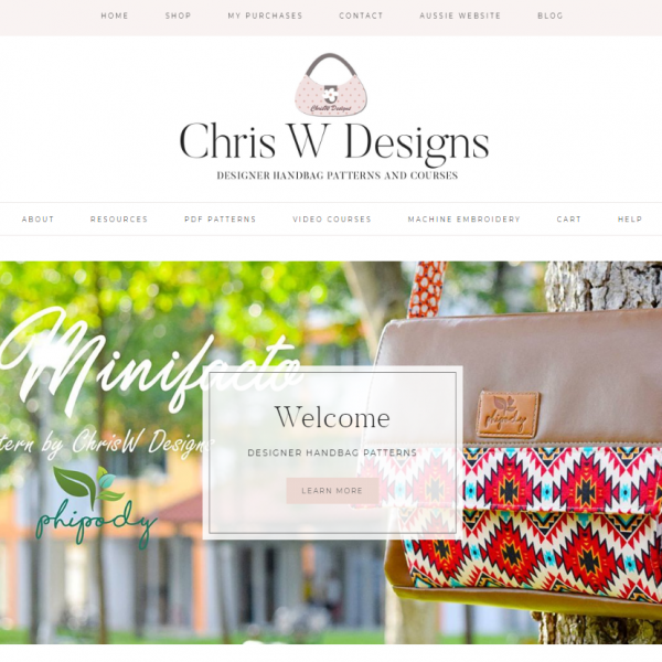 ChrisW Designs Website