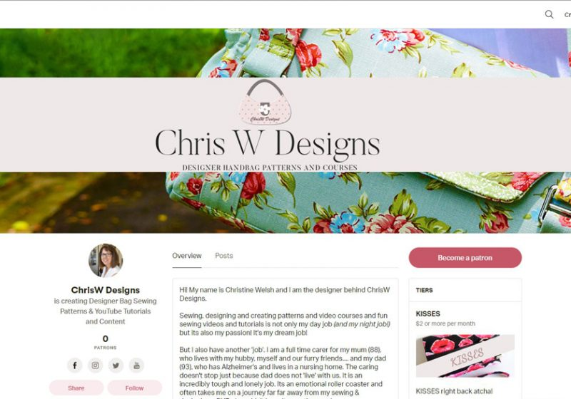 ChrisW Designs on Patreon