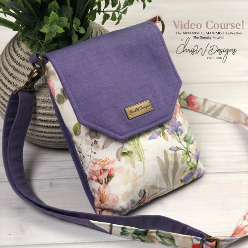 New Release – The Sneaky Satchel from the Minimise to Maximise Collection